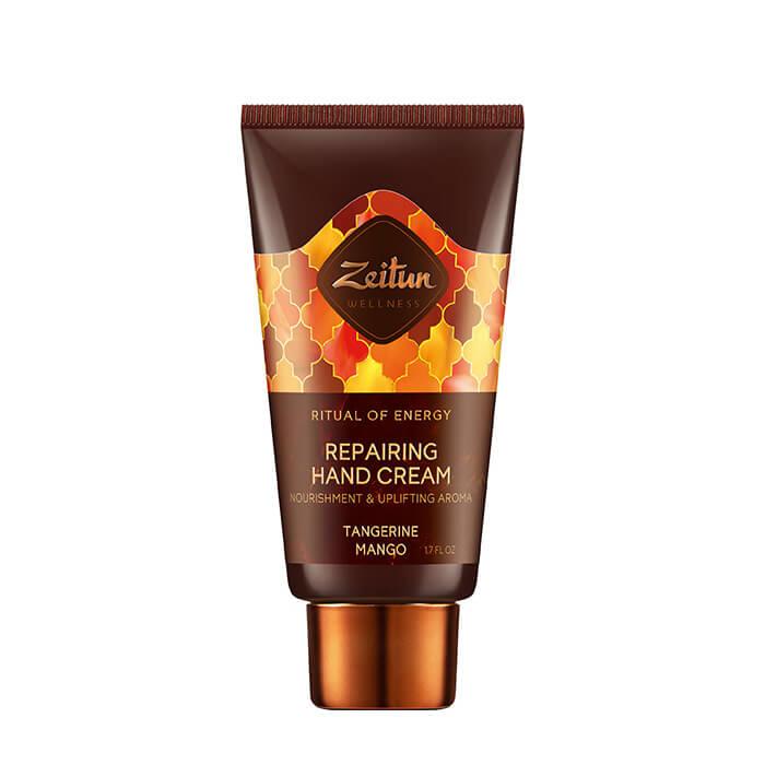 Купить Крем для рук Zeitun Ritual of Energy Repairing Hand Cream, Питательный тонизирующий крем для рук с цитрусовыми маслами, Иордания