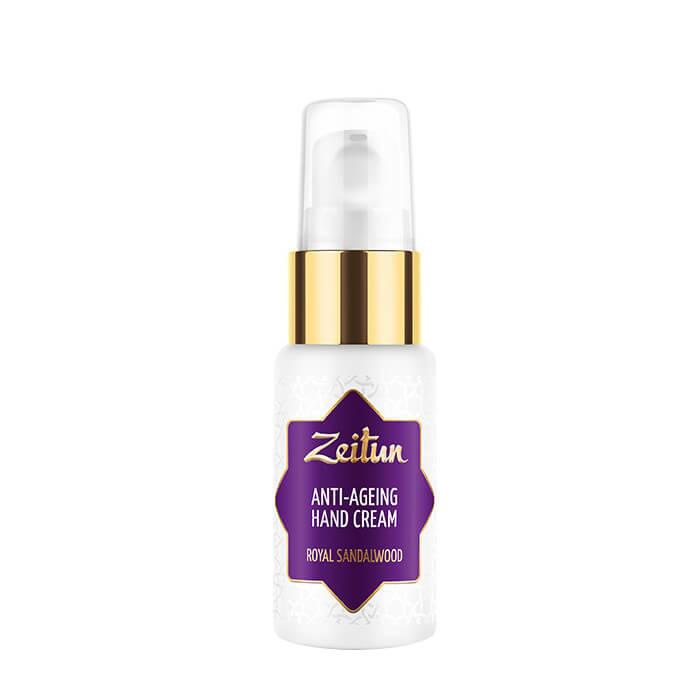Крем для рук Zeitun Royal Sandalwood Anti-Ageing Hand Cream Антиоксидантный крем для молодости кожи рук с эфирным маслом сандала