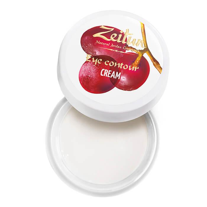 Крем для век Zeitun Eye Contour Cream №3 Натуральный крем с эфирными маслами для кожи вокруг глаз фото