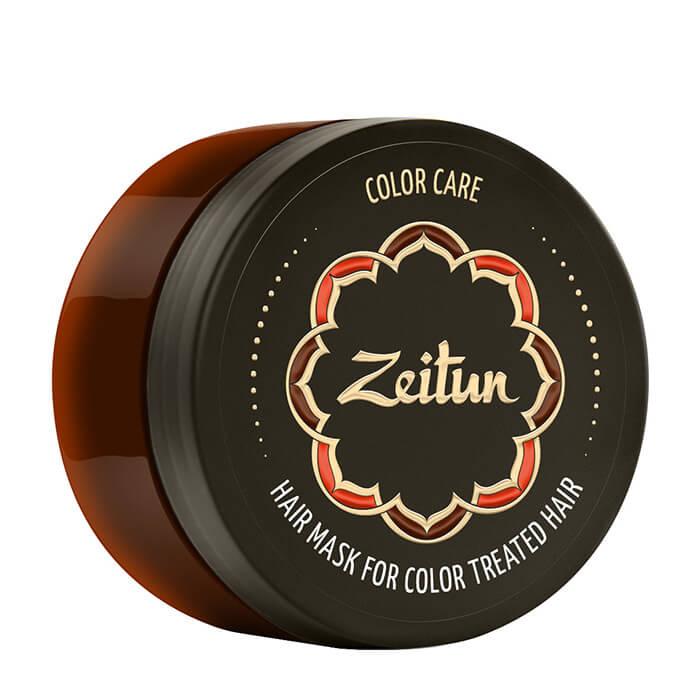 Купить Маска для волос Zeitun Color Care Hair Mask, Маска для ухода за окрашенными волосами с соком персидского лайма и гималайским воском, Иордания