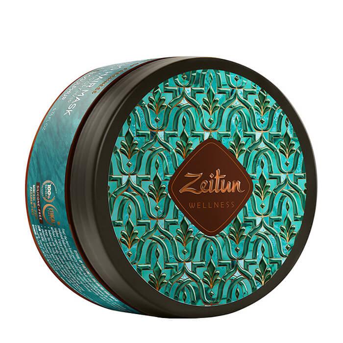 Купить Маска для волос Zeitun Ritual of Freshness Hair Mask, Ухаживающая маска для свежести волос и кожи головы с зелёным чаем и био-серой, Иордания