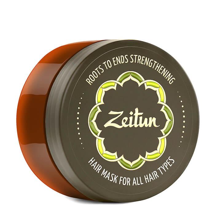 Маска для волос Zeitun Roots To End Strengthening Hair Mask Маска с целебными травами для укрепления волос по всей длине фото