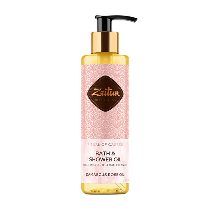 Масло для душа Zeitun Ritual of Caress Bath & Shower Oil