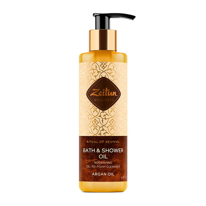 Масло для душа Zeitun Ritual Of Revival Bath & Shower Oil - Argan Oil