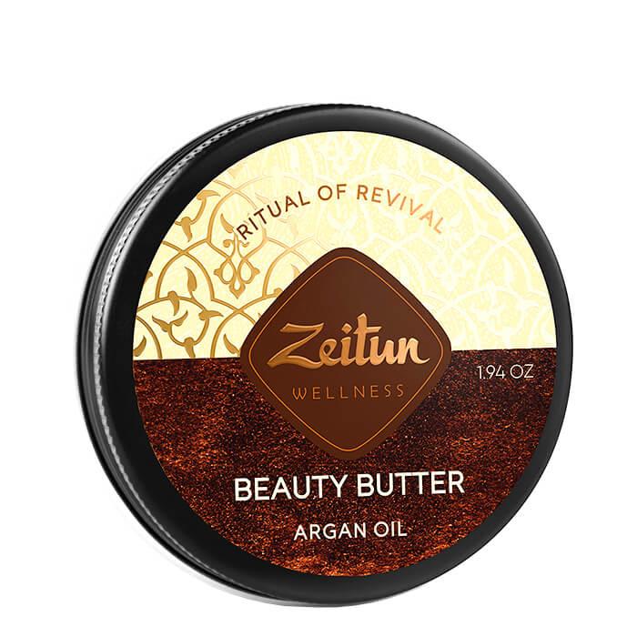Купить Масло для тела Zeitun Ritual Of Revival Beauty Butter - Argan Oil, Крем-масло для тела с органическим маслом арганы, Иордания
