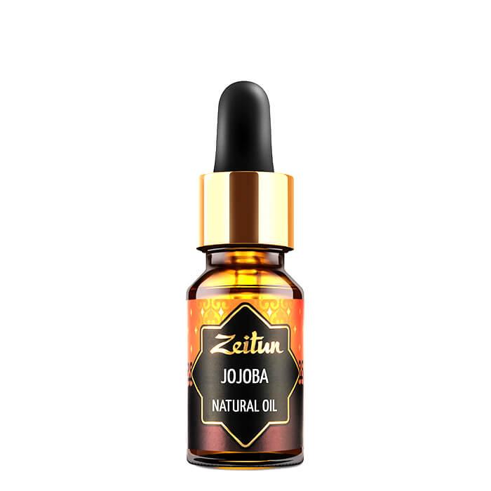 Купить Масло жожоба Zeitun Jojoba Natural Oil (10 мл), Чистое нерафинированное натуральное растительное масло жожоба, Иордания