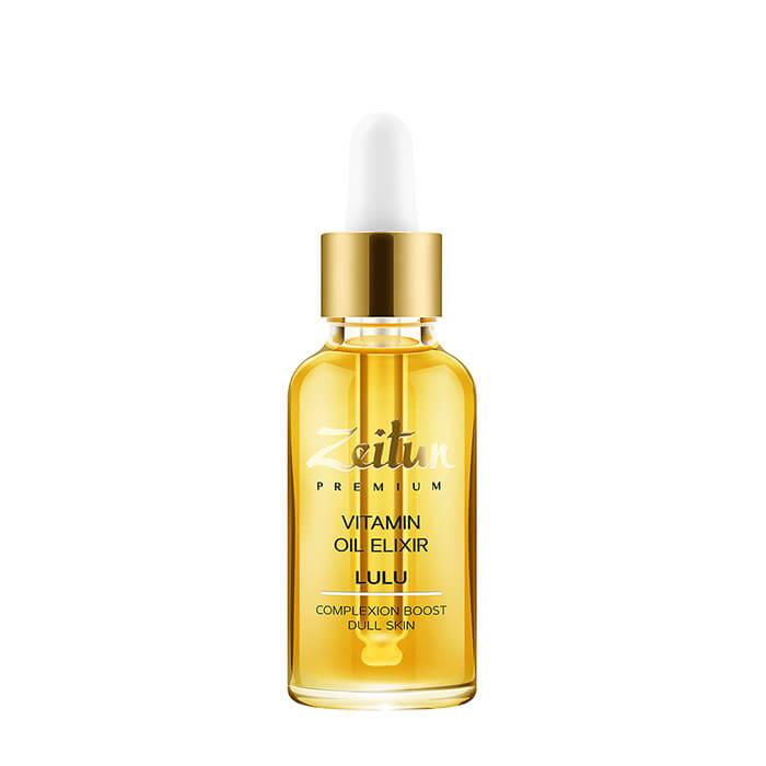 Масляный эликсир Zeitun Lulu Vitamin Oil Elixir Витаминный масляный эликсир для сияния кожи лица фото
