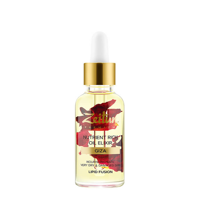 Масляный эликсир Zeitun Nutrient Rich Oil Elixir Питательный масляный эликсир для лица с дамасской розой фото