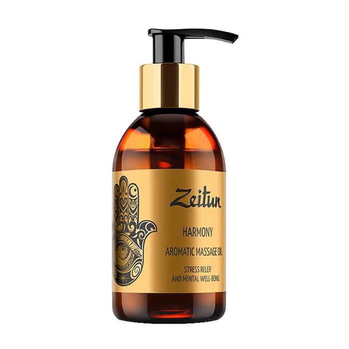 Массажное масло Zeitun Harmony Aromatic Massage Oil Ароматическое массажное масло с иланг-илангом и бергамотом фото