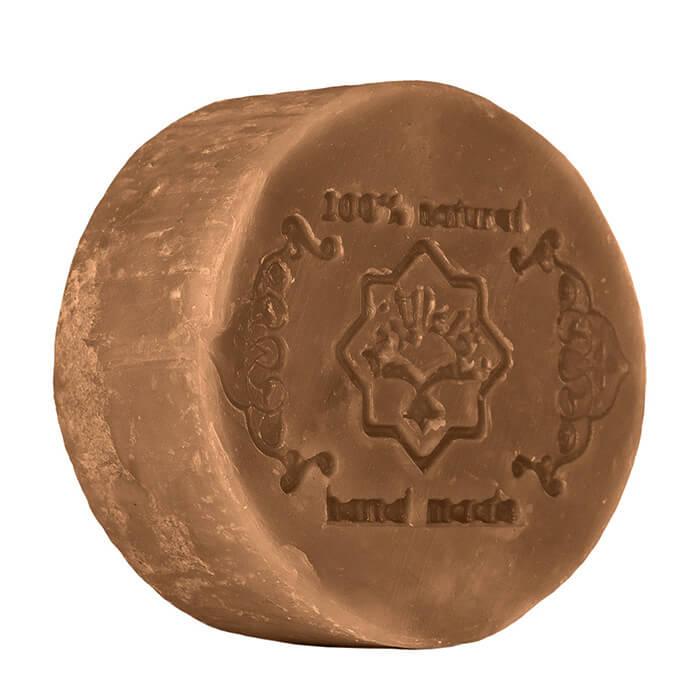 Купить Мыло для лица и тела Zeitun Сосновый дёготь, Натуральное алеппское экстра-мыло против акне и перхоти с сосновым дёгтем, Иордания