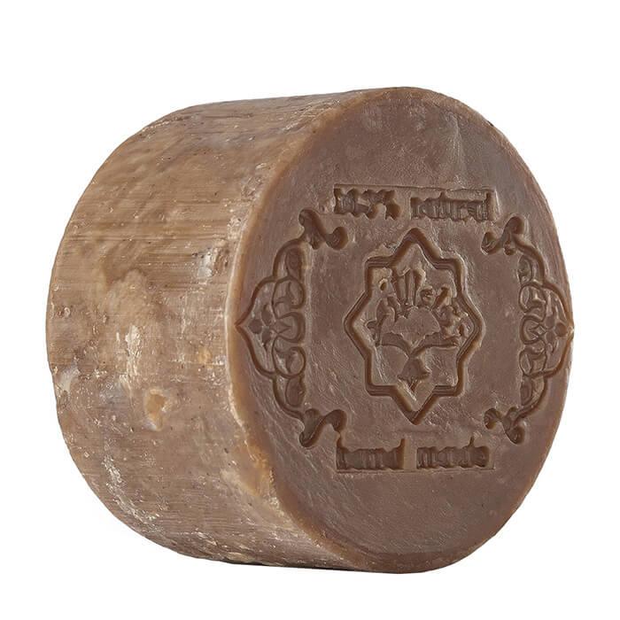 Мыло для тела Zeitun Кофе, Натуральное аллепское мыло из кофейных бобов с тонизирующим эффектом, Иордания  - Купить