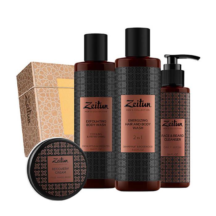 Набор подарочный Zeitun Безупречность Подарочный набор из четырёх средств для комплексного ухода за мужской внешностью фото