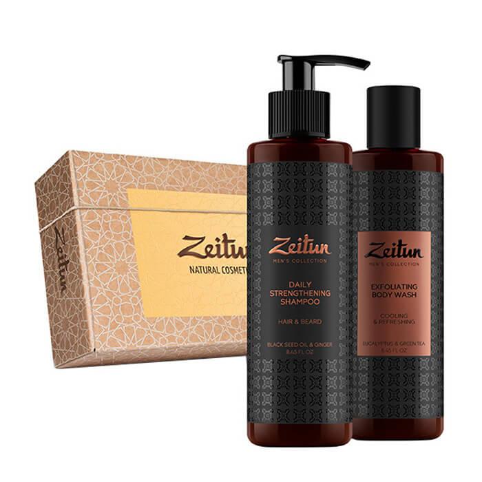 Купить Набор подарочный Zeitun Экспресс уход, Подарочный набор из двух средств для экспресс-ухода за мужской внешностью, Иордания