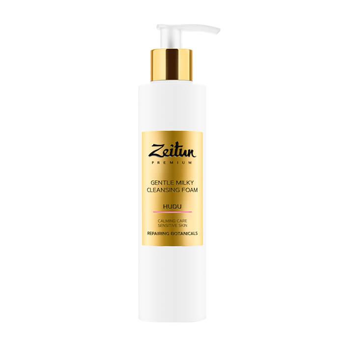 Купить Очищающая пенка Zeitun Gentle Milky Cleansing Foam (200 мл), Нежная молочная пенка для умывания чувствительной кожи лица, Иордания