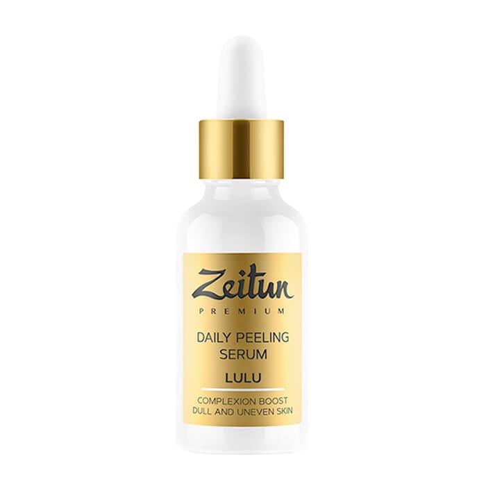 Купить Пилинг-сыворотка лица Zeitun Lulu Daily Peeling Serum, Ежедневная пилинг-сыворотка для лица с натуральными AHA кислотами, Иордания