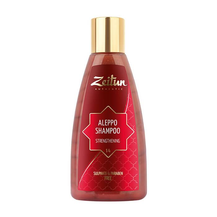 Шампунь для волос Zeitun Aleppo Shampoo Strengthening Алеппский бессульфатный шампунь для укрепления волос по всей длине фото