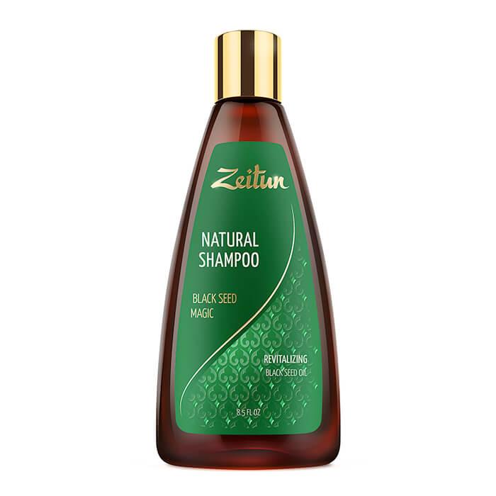 Купить Шампунь для волос Zeitun Natural Shampoo Black Seed Magic, Укрепляющий шампунь для волос с маслом чёрного тмина, Иордания
