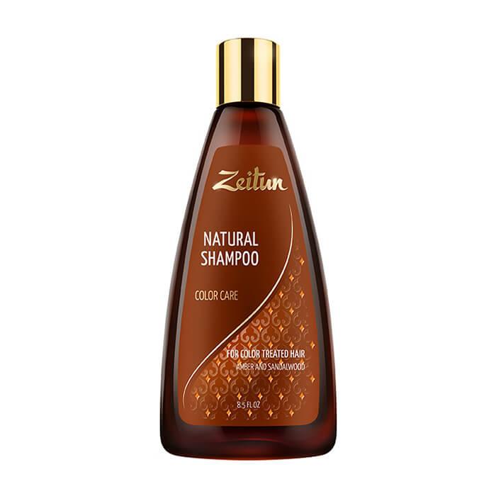 Купить Шампунь для волос Zeitun Natural Shampoo Color Care, Шампунь для ухода за окрашенными волосами с сандалом и амброй, Иордания