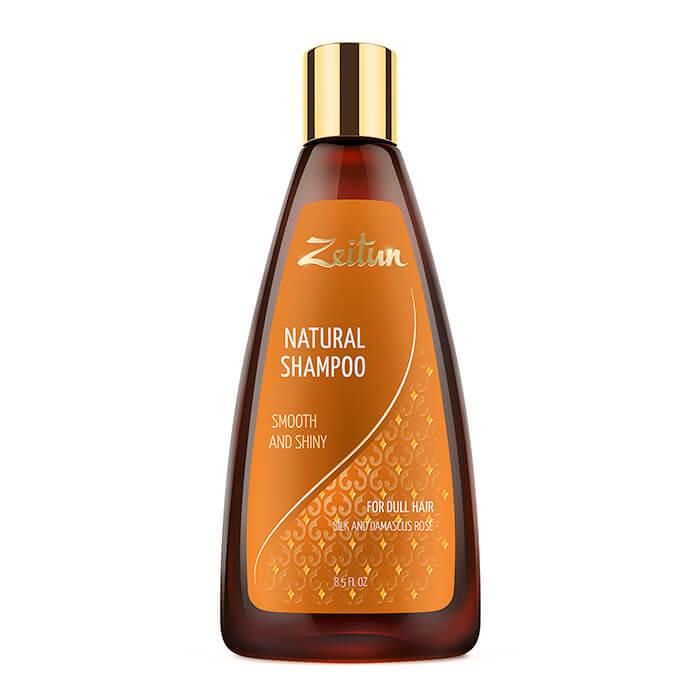Шампунь для волос Zeitun Natural Shampoo Smooth And Shiny Шампунь для придания гладкости и блеска непослушным волосам фото