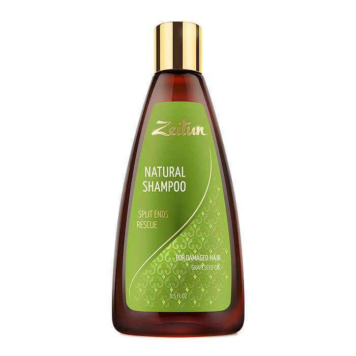 Купить Шампунь для волос Zeitun Natural Shampoo Split Ends Rescue, Шампунь против сечения волос с маслом виноградной косточки, Иордания