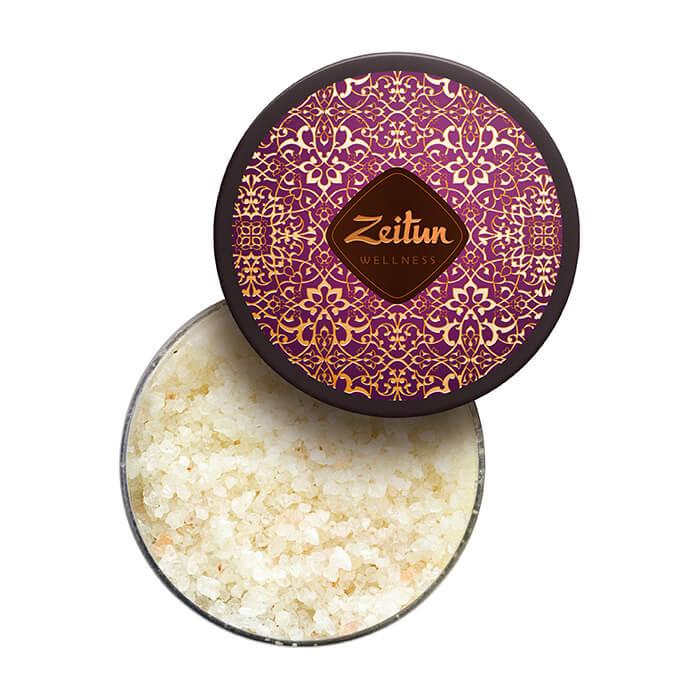 Соль для ванны Zeitun Ritual of Seduction Oil-enriched Bath Salt Ароматическая соль для ванн с жасмином и маслом макадамии фото