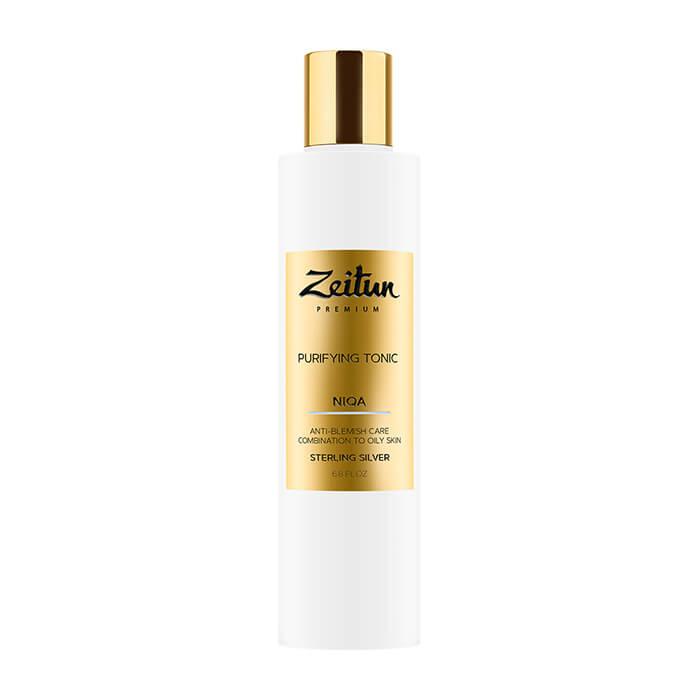 Купить Тоник для лица Zeitun Niqa Purifying Tonic, Очищающий тоник против жирности и несовершенств кожи лица с серебром, Иордания