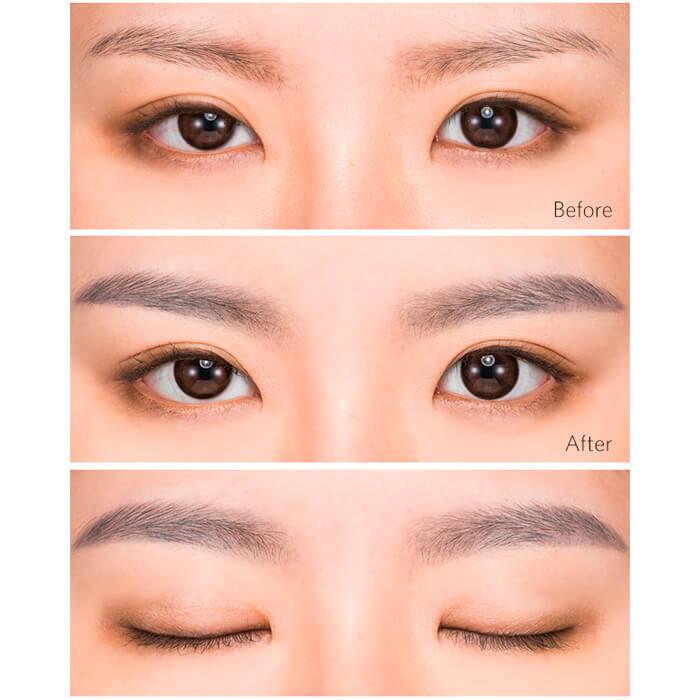 Купить Карандаш для бровей Missha Perfect Eyebrow Styler #4 Gray | Серый, Автоматический карандаш для создания естественного макияжа бровей, Южная Корея
