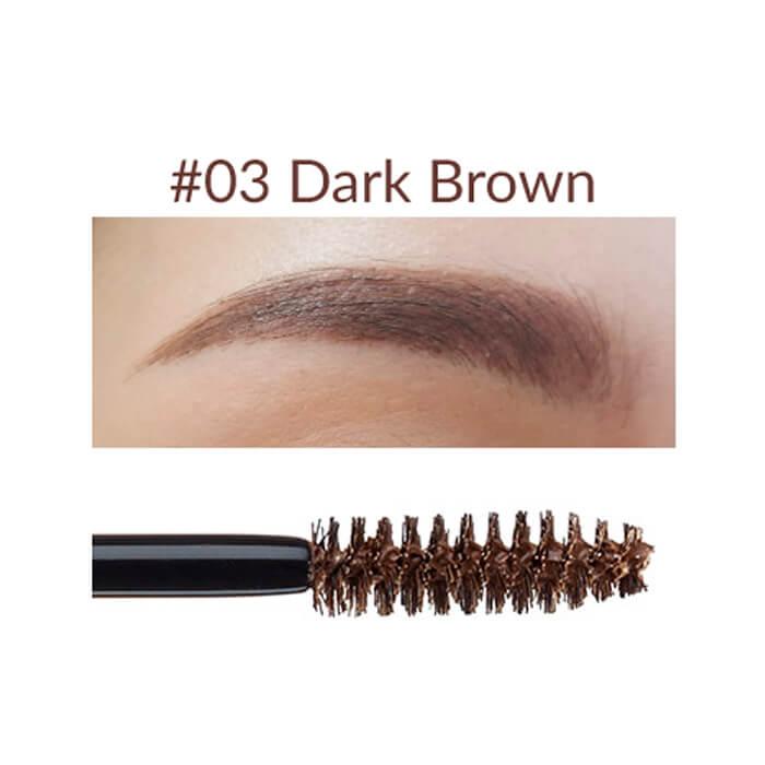 Купить Тушь для бровей The Saem Saemmul Browcara #1 Natural Brown | Натуральный коричневый, Тушь для идеального законченного макияжа бровей, Южная Корея
