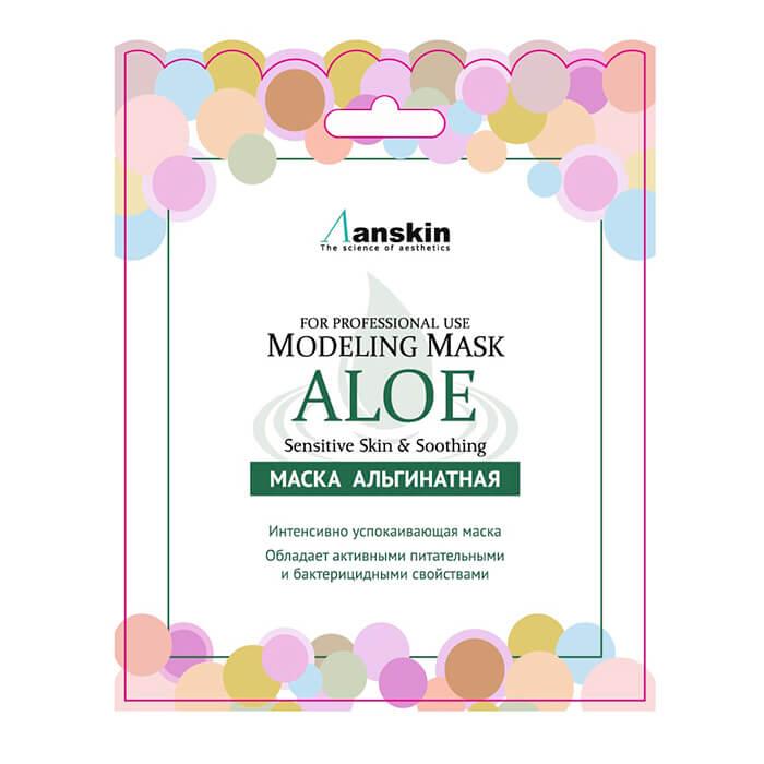 Альгинатная маска Anskin Aloe Modeling Mask (Sachet)